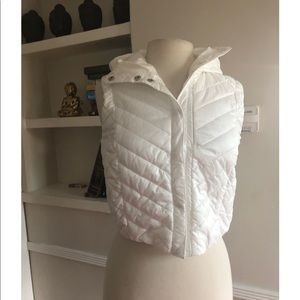 Lululemon Athletica white vest